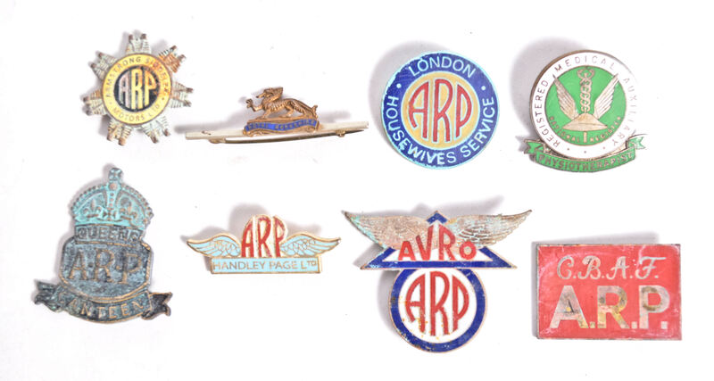 Fake ARP badges