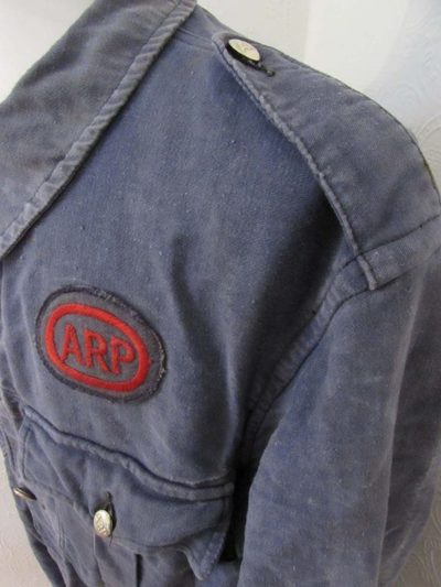 Belted ARP Bluette Overalls insignia