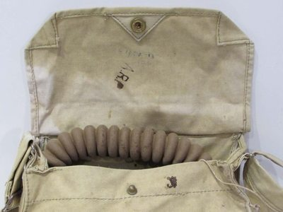 WW2 General Service Respirator (GSR) Mk.VII carrying bag.