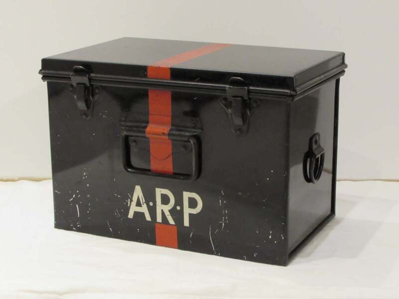 Large ARP First Aid Box located at Wardens' Posts