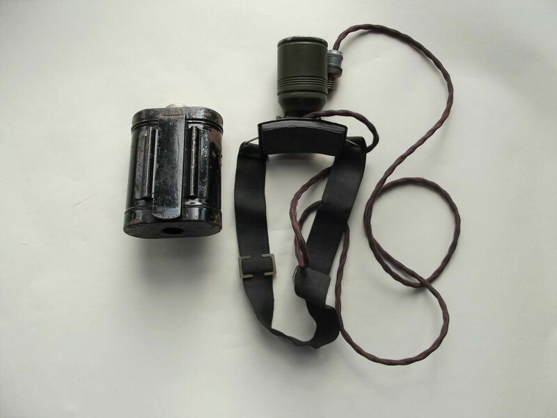Helmet Mounted Rescue Torch (rear)
