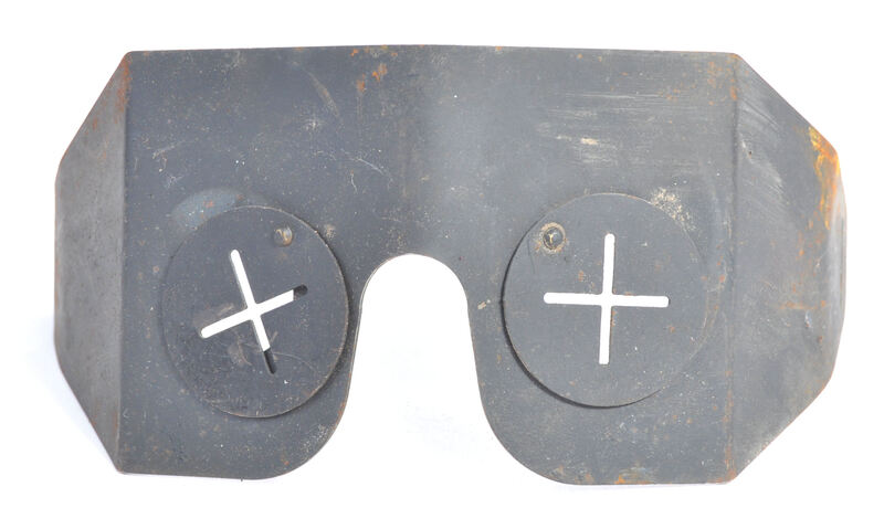 Fake ARP splinter goggles