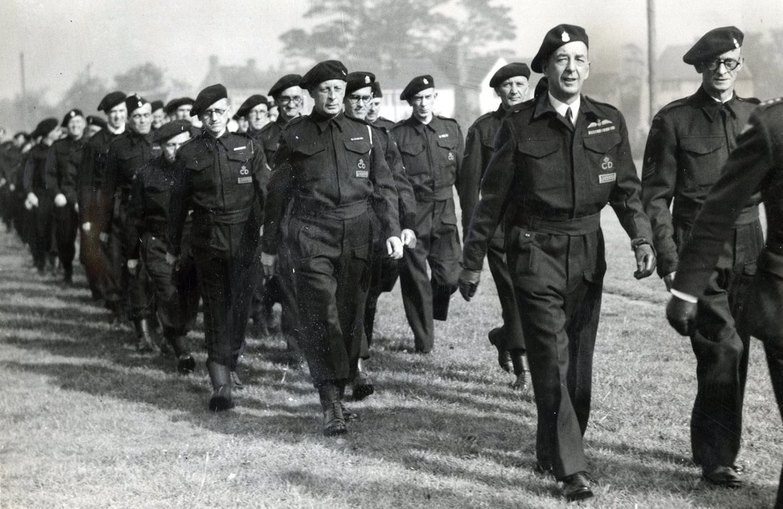RAF Wings On WW2 Civil Defence Battledress
