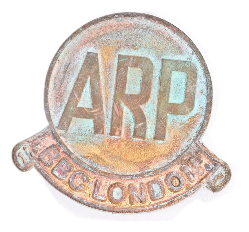 Fake BBC London ARP badge