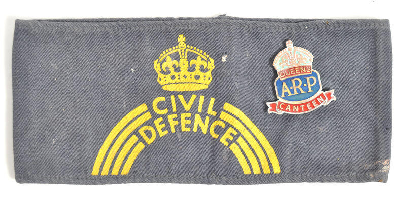 Fake ARP Queens Canteen badge