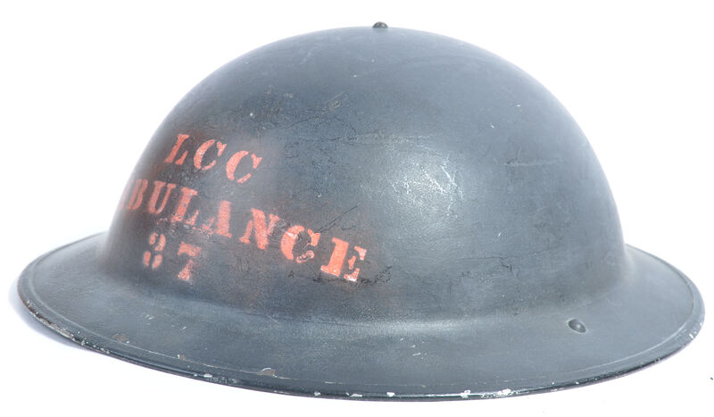 Fake LCC Ambulance helmet