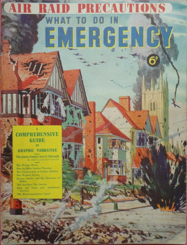 Air Raid Precautions - What To Do In Emergency