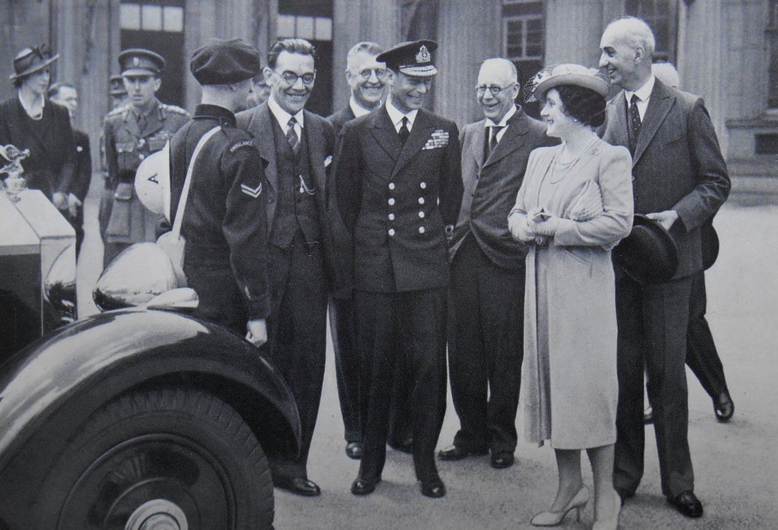 King & Queen Inspect Ambulance Crews at Buckingham Palace
