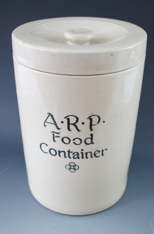 WW2 Doulton Stoneware ARP Food Container