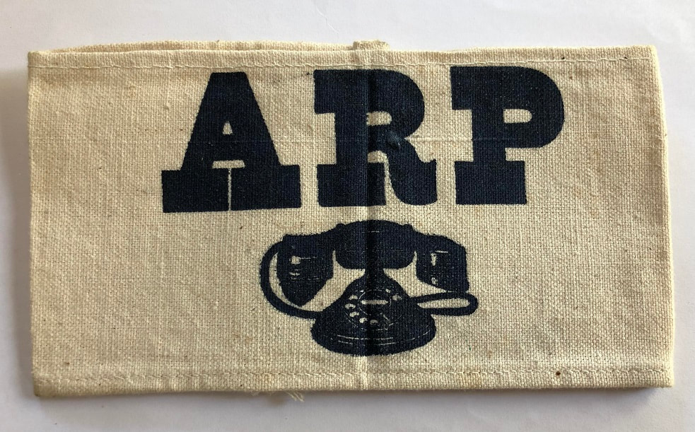 WW2 ARP Telephone Armband