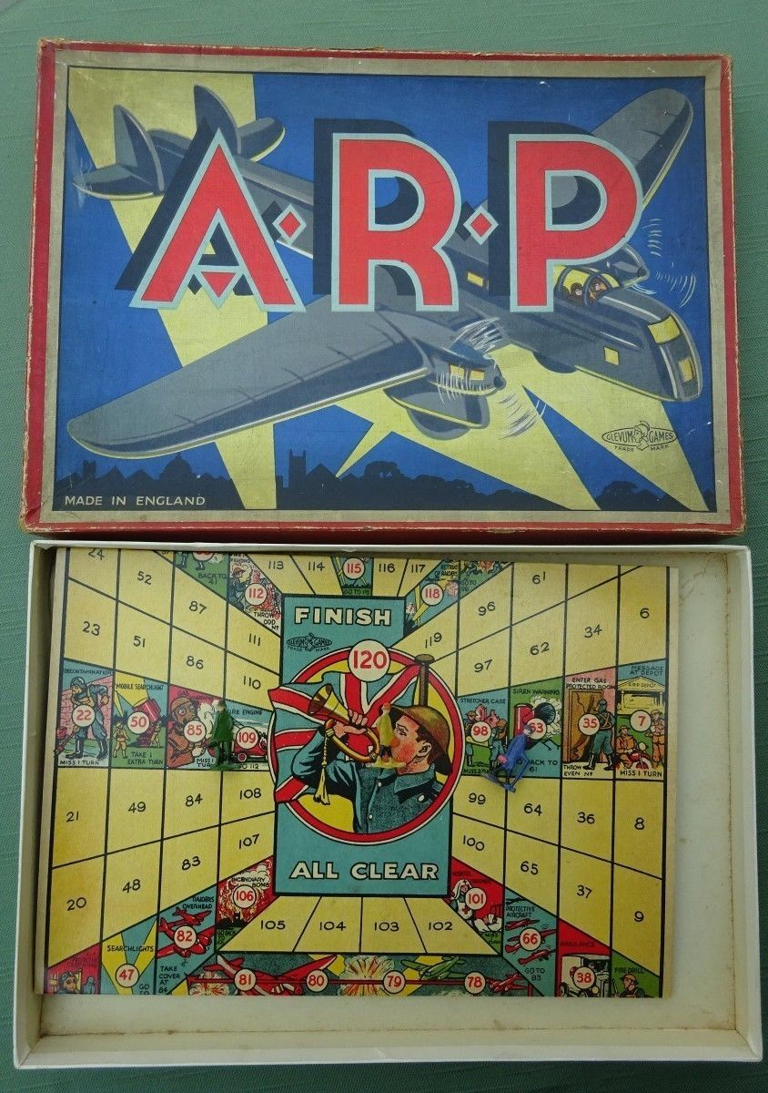 WW2 ARP board game.
