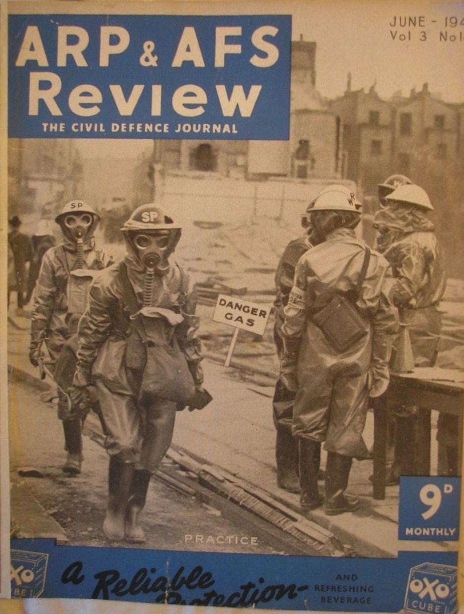 WW2 ARP & AFS Review - Civil Defence Journal 1940