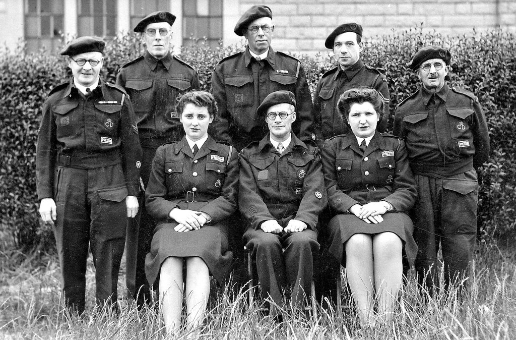 WW2 Civil Defence FAP Group Photo