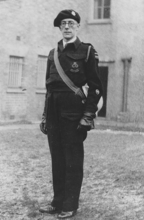 WW2 ARP Chief Warden Carter, Waltham Abbey