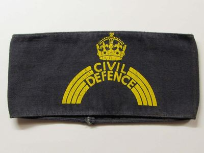 WW2 Civil Defence ARP Pattern 54 Armband (Printed)