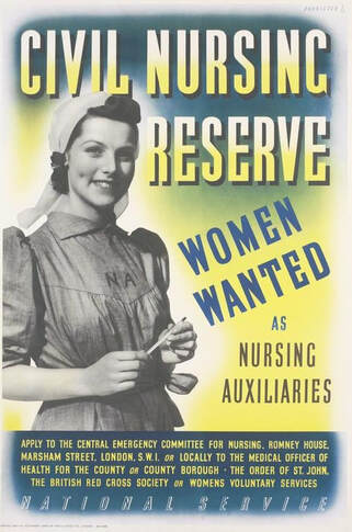 Civil Nursing Reserve recruitment poster