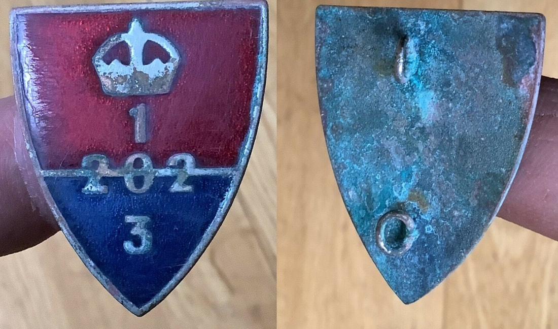 Fake WW2 Home Guard Auxiliary Unit Badges on eBay