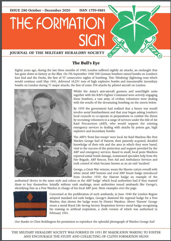 The Formation Sign - Issue 280 - Oct-Dec 2020 - Page 1