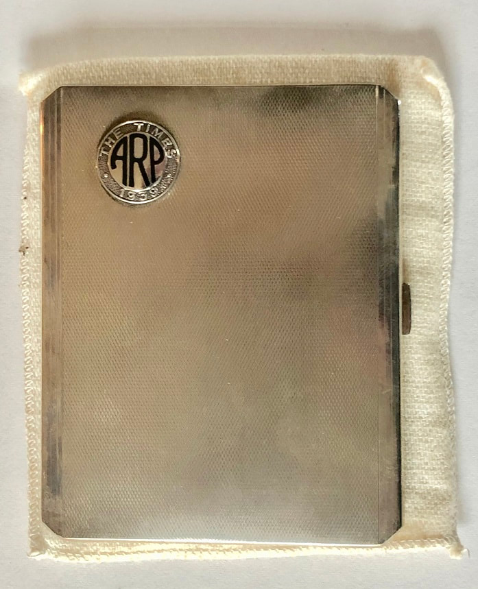 The Times ARP cigarette case