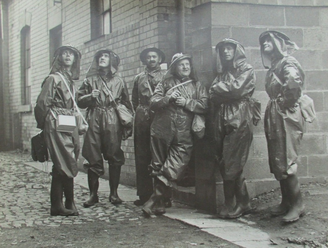 WW2 ARP Gas Decontamination Squad