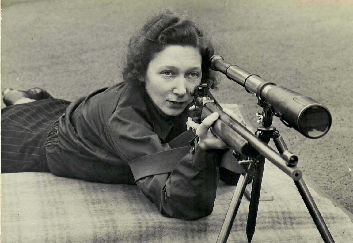 Georgina Adams - ARP Warden and Member of the Women's Home Defence.