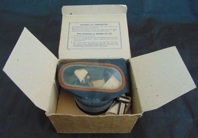 Boxed General Civilian Respirator (Gas Mask)