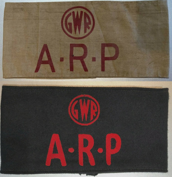 Reproduction GWR ARP armbands
