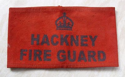 Hackney Fire Guard armband.