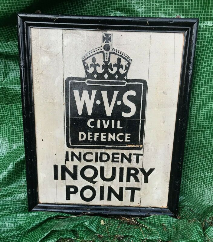 WVS Incident Inquiry Point Sign