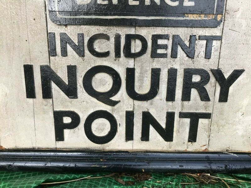 WVS Incident Inquiry Point Sign Lettering