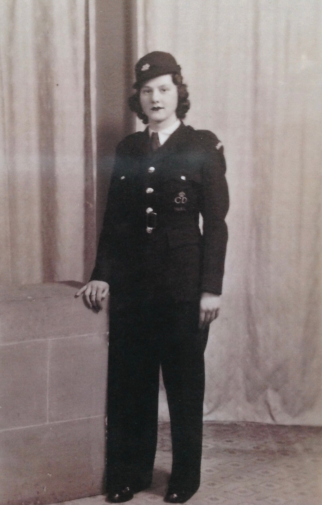 Emily Weston - member of Hull's Civil Defence during WW2