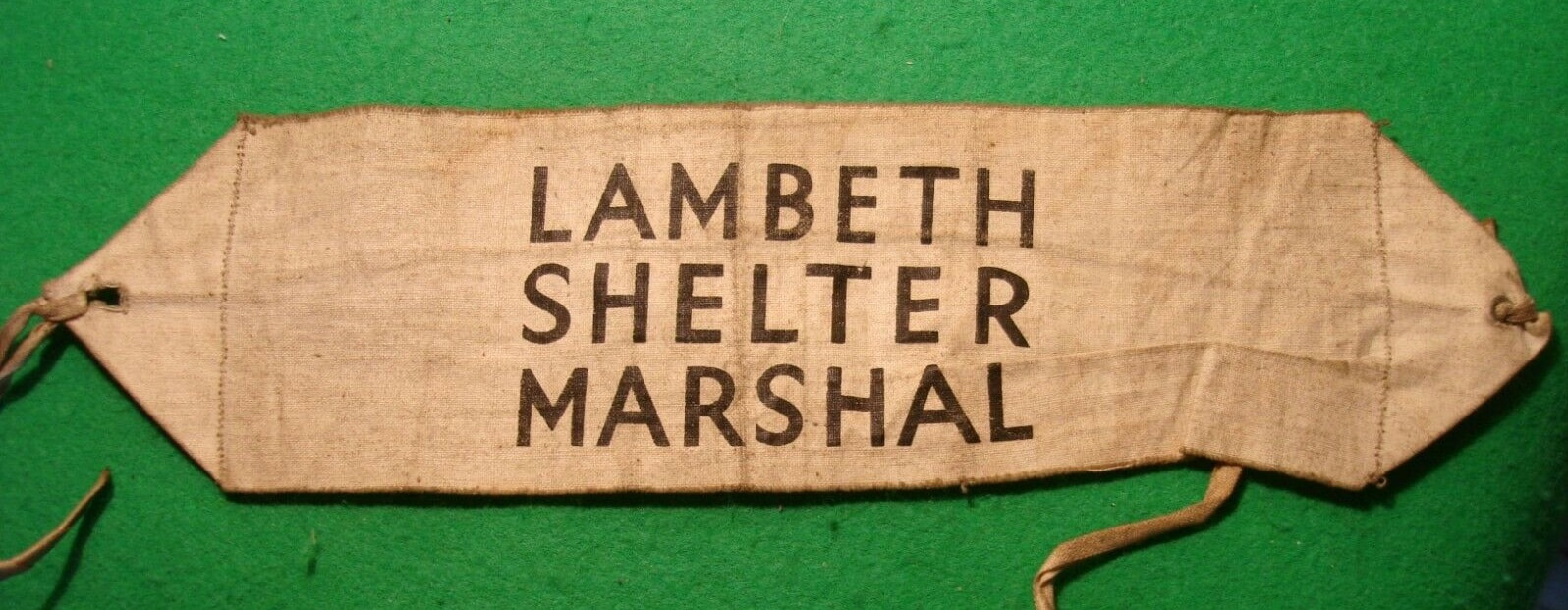 Lambeth Shelter Marshal Armband