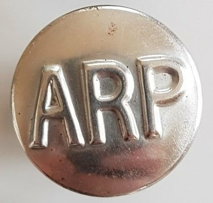 WW2 ARP & CD Buttons - WW2 Civil Defence Uniforms, Insignia & Equipment