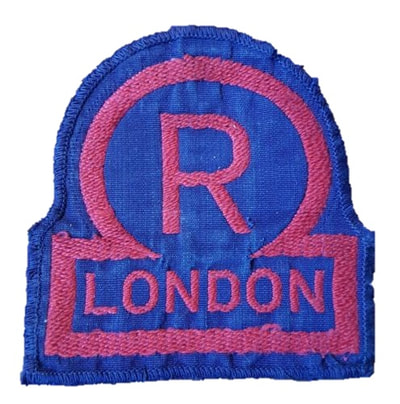 Civil Defence Rescue Party London breast badge - Pattern 1