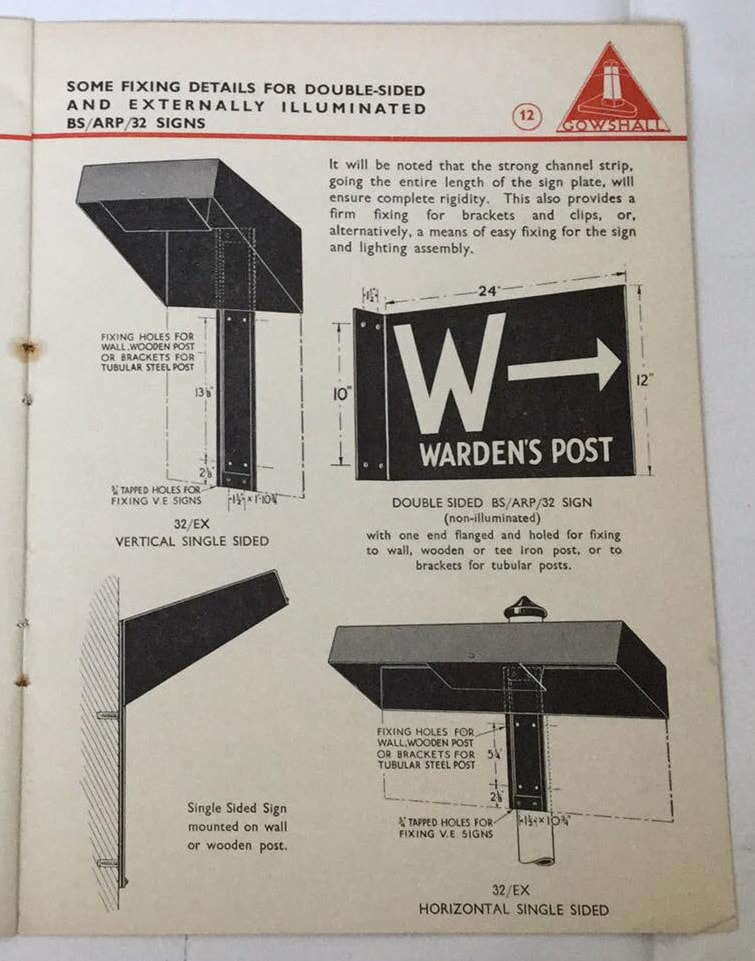 Wardens' Post signage