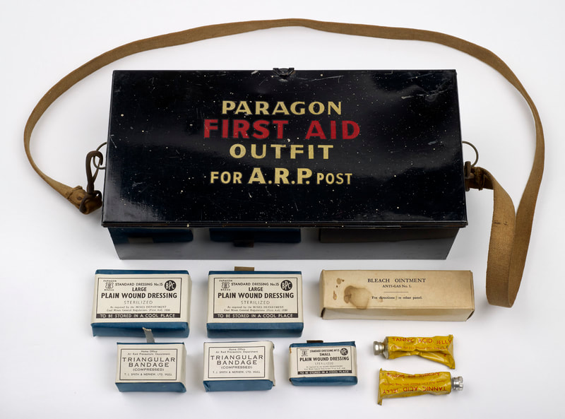 Paragon First Aid Outfit for ARP Post
