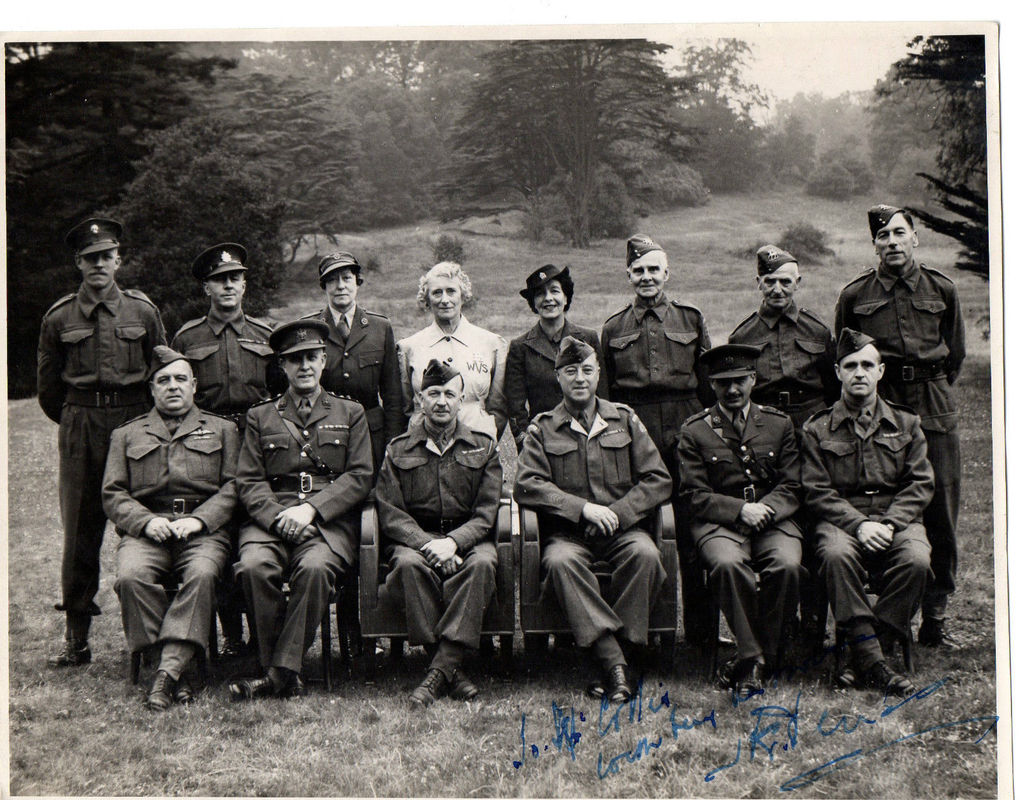 WVS Volunteers and Home Guard Group Photo.