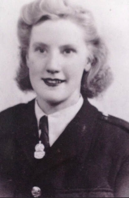 Alice Weston - member of Hull's Civil Defence during WW2