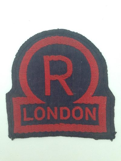 Civil Defence Rescue Party London breast badge - Pattern 2