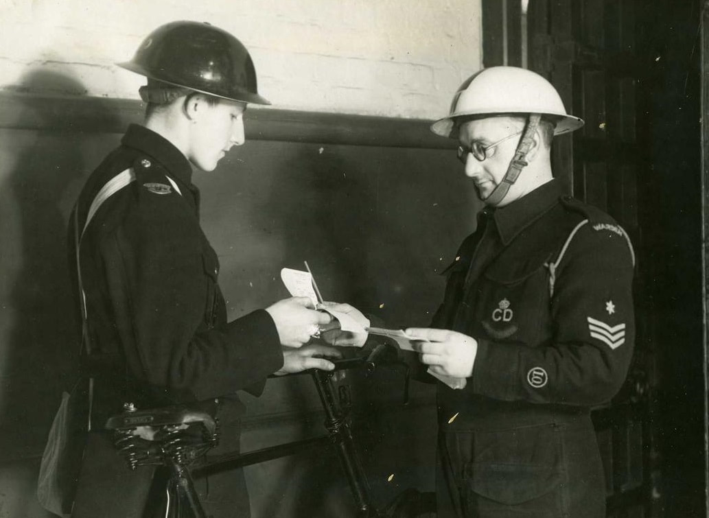 WW2 Red Cross Member & London Civil Defence Post Warden