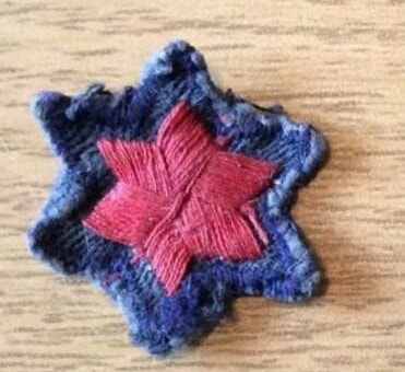 WW2 Civil Nursing Reserve Red Star