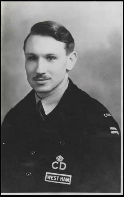 WW2 ARP Report & Control Officer From West Ham