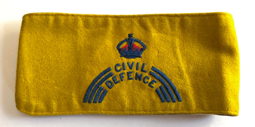 Regional Staff HQ Civil Defence Armband