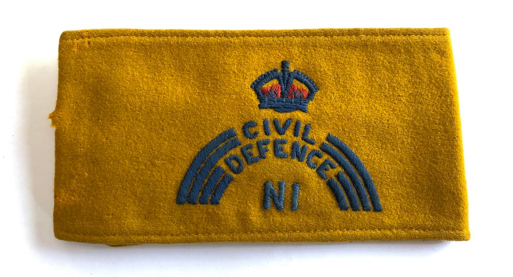 Regional Staff HQ Civil Defence Northern Ireland Armband
